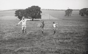 Barnes Wallis taught the children signalling by semaphore…