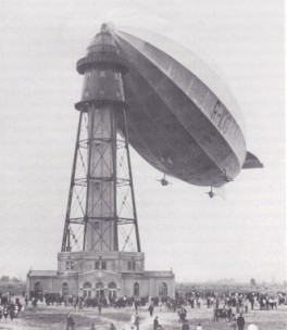 The airship R100, which Barnes Wallis designed