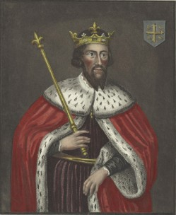 King Alfred etching
