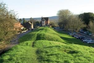 The west walls at Wareham