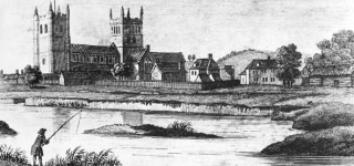 Wimborne and the Minster in the 18th Century