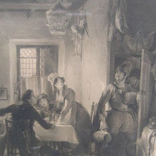 The Smugglers' Intrusion by Sir David Wilkie