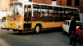 Bedford/Paxton bus, Wimborne