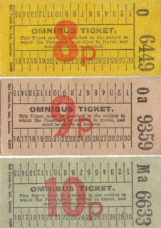 The tickets used on the Crichel route