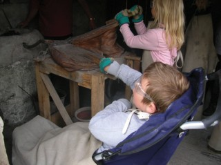 Excursions to such places as the Ancient Technology Centre at Cranborne from Prince of Wales School, Dorchester