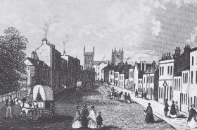 West Borough in about 1840