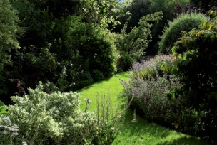 This is a garden to wander through and explore