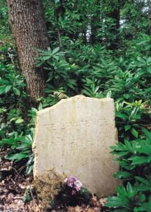 Memorial Stone to T E Lawrence near crash site