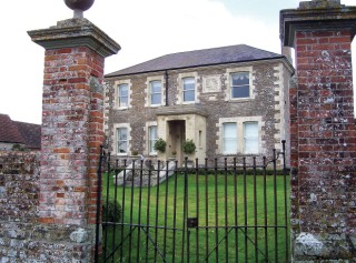 The Victorian replacement for Manor Farm