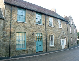 The former School House today - Beaminster Boarding School