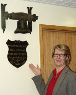 Grammar School bell - Beaminster Boarding School