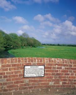 The bridge at Lower Bockhampton