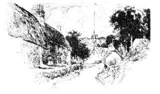 Fontmell Magna Maypole
