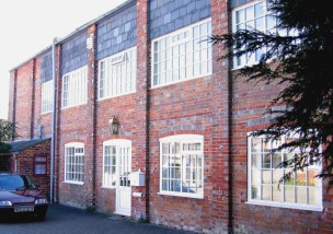 William Hart's factory in Bargates, where fusee chains were made<