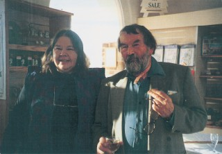 Jo Draper with John Fowles, Dorset-The Complete Guide