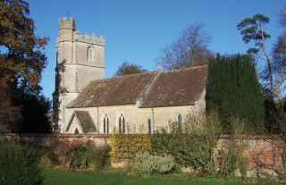 The church of St Nicholas at Manston