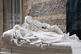 Monument of Joseph Damer and wife Caroline