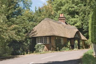 The lodge near Milton Abbas Abbey