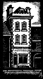 High House, engraving, Shaftesbury