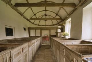 Eighteenth-century woodwork ,St Andrews Church, Winterborne Tomson