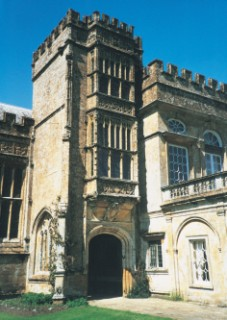 The porch of Forde Abbey