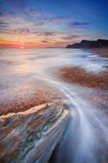 eype's mouth,dorset coast
