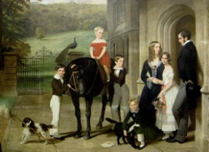 Bond Family at Creech Grange