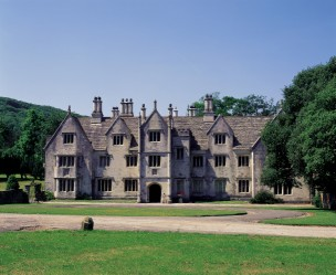 The east front of Creech Grange today
