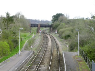 Maiden Newton station as it is today