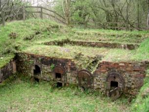 The Wytherstone brick kiln, near Powerstock,