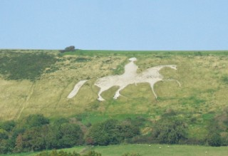 The White Horse at Osmington