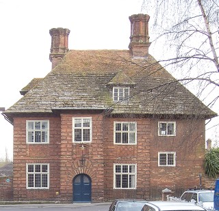 The Old House, spared by the 1731 fire,Blandford