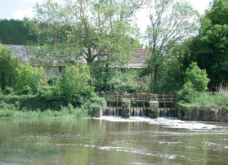 The Fiddleford Mill,River Stour