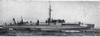 A German E-boat