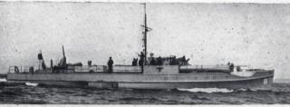 A German E-boat