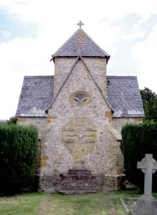The Weld mausoleum, next to the parish church- Chideock.Dorset