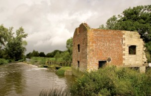 The mill today is a sad ruin-Cut Mill