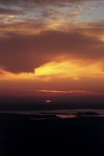 Sunrise over Poole Harbour