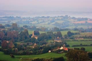 Compton Abbas from Fontmell Down