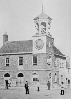 The Town Hall photographed in 1860.