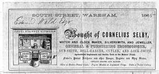 The ornate letterhead of the versatile Cornelius Selby