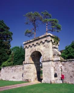 Vanbrugh's great archway Eastbury
