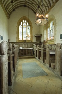 Inside the Trinity Chapel St Anthony's Lewston