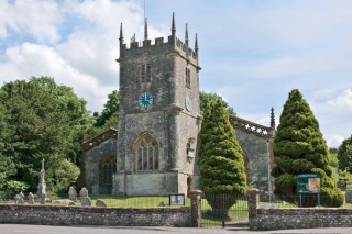 Frampton Village- The church of St Mary is 15th-century