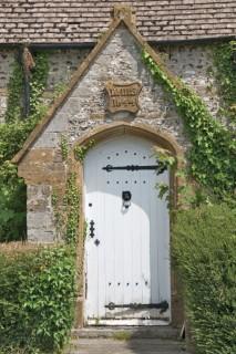 The Stour at Blandford-Monkton Wyld church