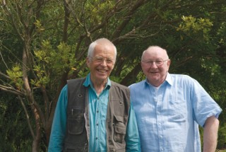 Purbeck Film Festival,Tony Viney with Sir Bill Cotton