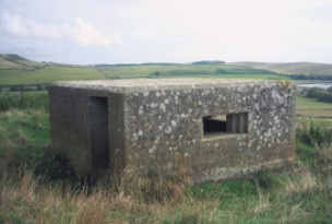 A Type 26 box overlooking Abbotsbury Swannery