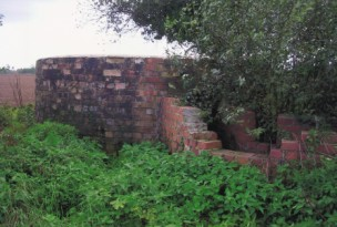 The 'Dorset Round' pillbox .A pillbox at Abbotsbury