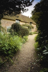 The path to Hardy's Cottage, Hardy Country