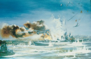 painting of HMS Foylebank